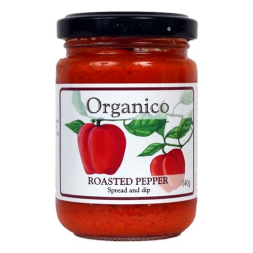 Organico – Roasted Pepper Spread & Dip 140gm