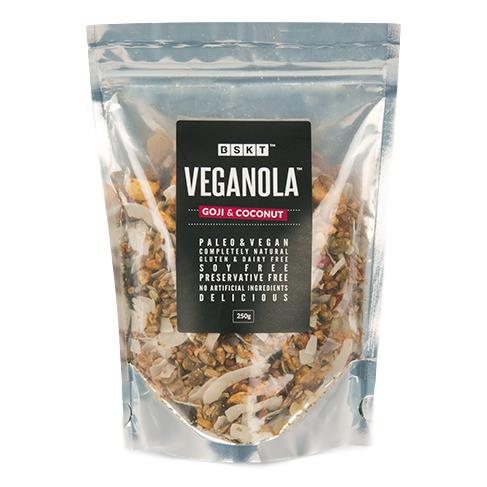 BSKT – Veganola Goji & Coconut 250gm