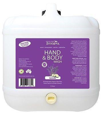 Biologika – Hand and Body Wash Lavender per kg (not postable)