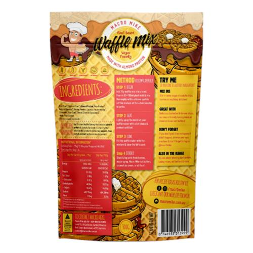 Macro Mike – Almond Protein Waffle Baking Mix 300g