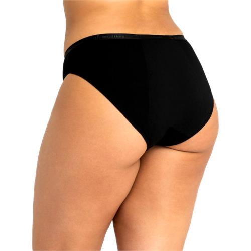 Modibodi – Classic Bikini Heavy Overnight Absorbency Black