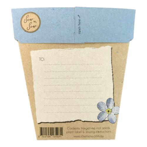 Sow 'N Sow – Gift of Seeds Forget Me Not
