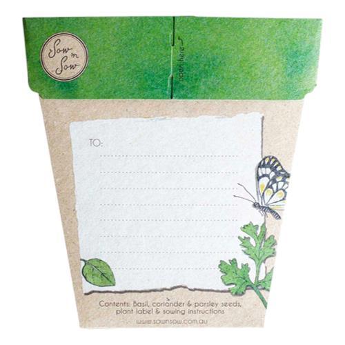 Sow 'N Sow – Gift of Seeds Trio of Herbs