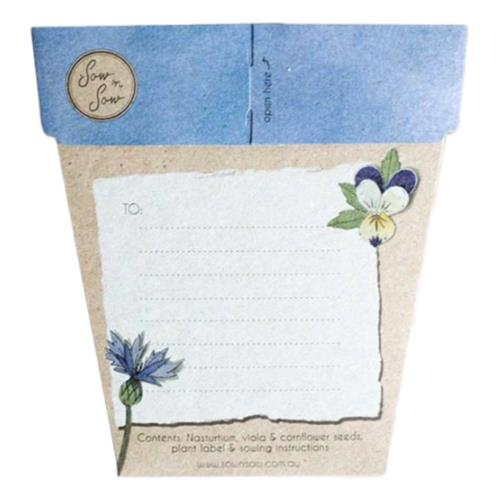 Sow 'N Sow – Gift of Seeds Culinary Flowers