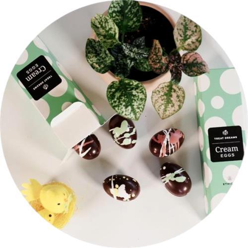 Treat Dreams – Vegan Chocolate Easter Eggs 6x25g