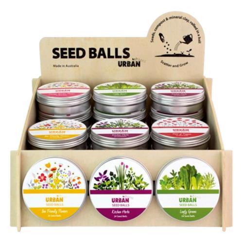 Urban Greens – Seed Balls Bee Friendly Flowers 24