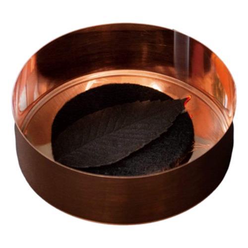 POJ Studio – Hako Incense Black Leaves Set in copper tin 'Relax' x 7