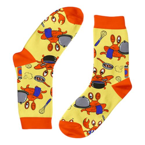 Funky Sock Co – Bamboo Socks Crabs in the Kitchen per pair