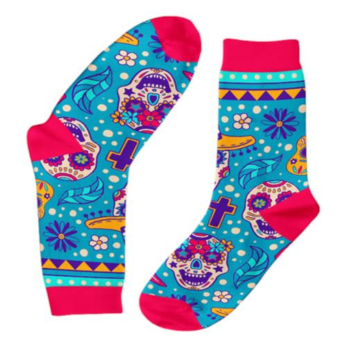 Funky Sock Co – Bamboo Socks Day of the Dead per pair