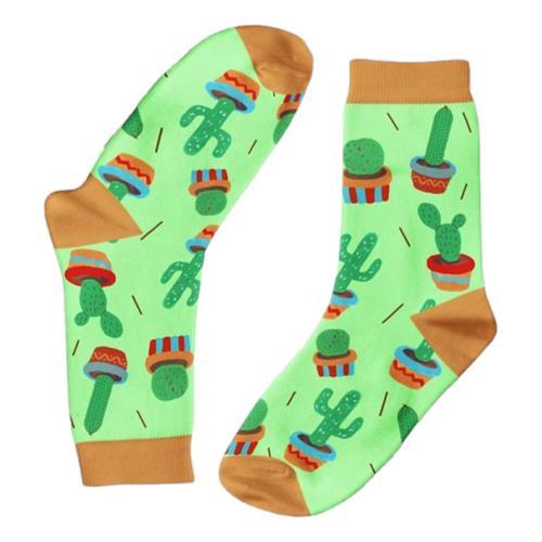 Funky Sock Co – Bamboo Socks Cactus 2.0 per pair