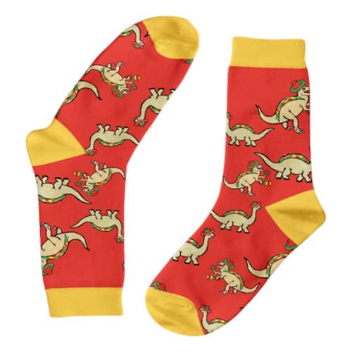 Funky Sock Co – Bamboo Socks Jurassic Tacosaurus per pair