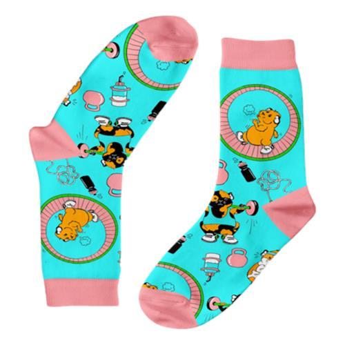 Funky Sock Co – Bamboo Socks Gym Guineas per pair